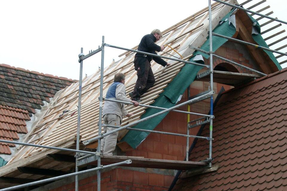 Dach dämmen mit Holzweichfaserplatten Fachwerkhaus