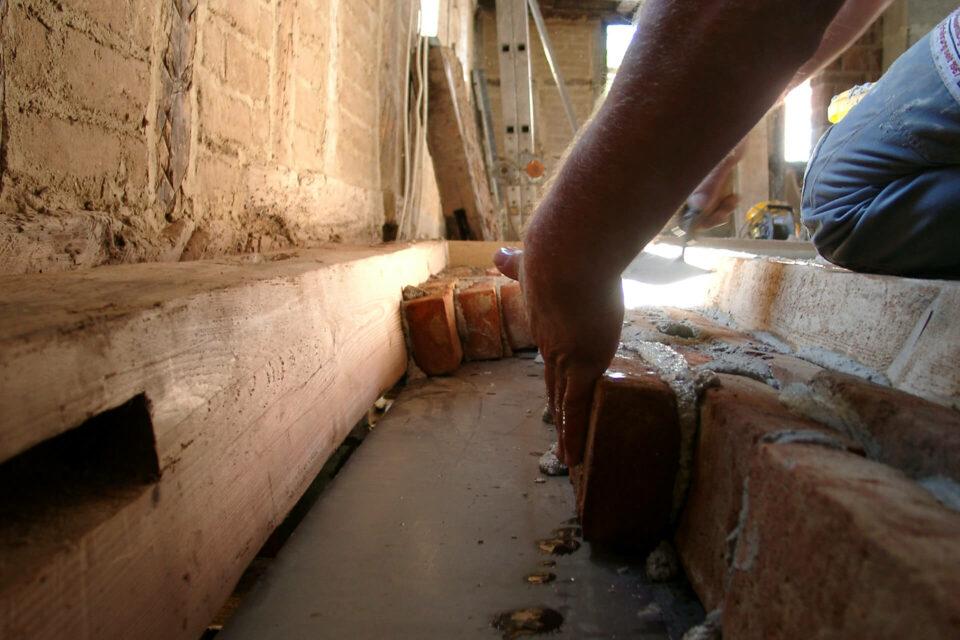 Kappendecke im Fachwerkhaus erneuern
